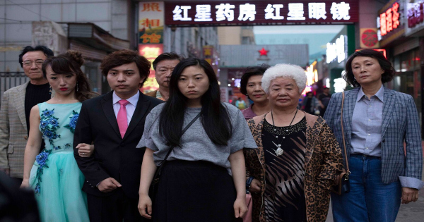 the farewell, comedy, drama, Awkwafina, blu-ray, review, a 24, lionsgate