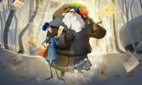 klaus, animated, christmas, comedy, review, netflix