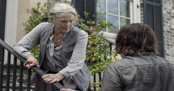 open your eyes, the walking dead, tv show, horror, drama, season 10, review, amc studios
