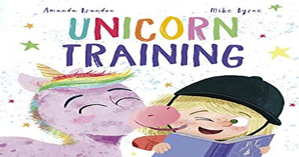 unicorn training, children's fiction, amanda brandon, net galley, review, qeb publishing