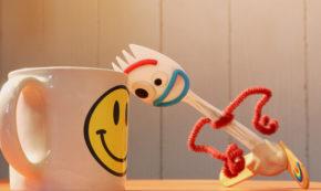 what is a friend, forky asks a question, short, pixar, tony hale, review, disney plus