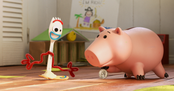 what is money, forky asks a question, short, animated, pixar, review, disney plus