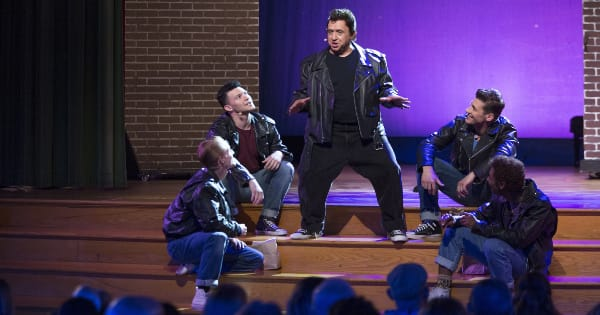 grease, encore, tv show, reality, kristen bell, season 1, review, disney plus