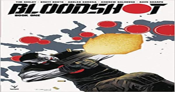 blood shot, comic, graphic novel, science fiction, fantasy, tim seeley, net galley, review, valiant entertainment, diamond book distributors