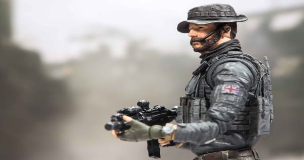 holiday gift guide, call of duty, modern warfare, captain john price, action figure, 2019, activision