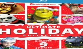 dreamworks holiday collection, shrek the halls, merry madagascar, trolls holiday, kung fu panda holiday, blu-ray, review, universal home entertainment