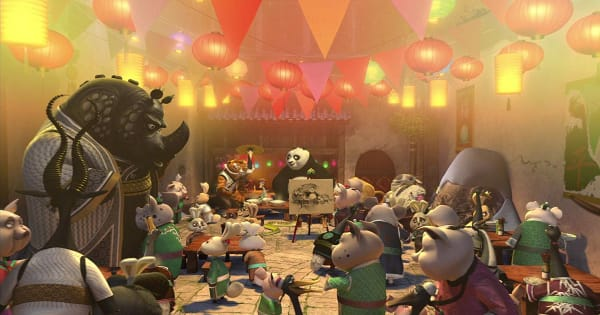 dreamworks holiday collection, kung fu panda holiday, computer animated, action, comedy, blu-ray, review, universal home entertainment