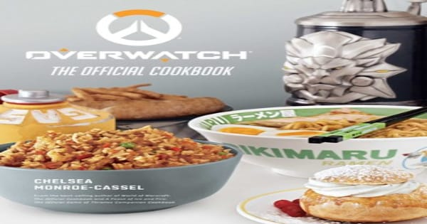 holiday gift guide, overwatch, cookbook, video game, 2019, activision