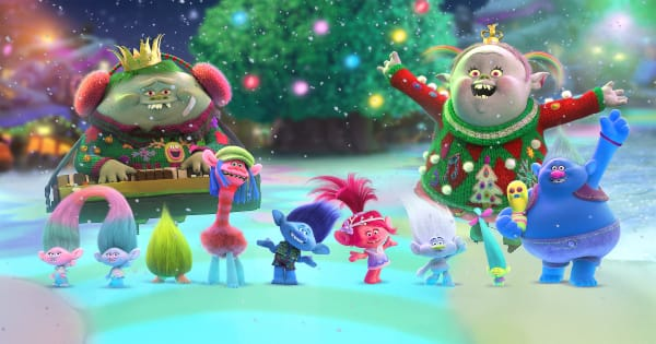 dreamworks holiday collection, trolls holiday, computer animated, musical, comedy, christmas, review, blu-ray, universal home entertainment
