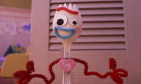 what is love, forky asks a question, animated, pixar, short, review, disney plus