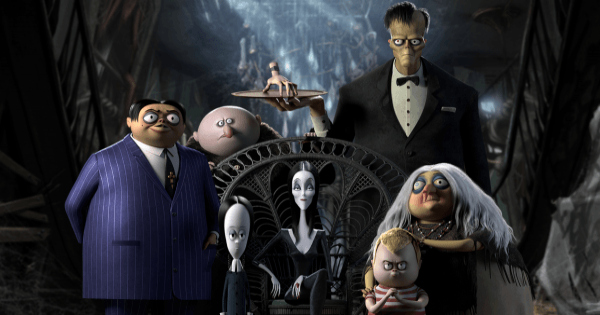 the addams family, computer animated, comedy, supernatural, horror, blu-ray, review, universal pictures