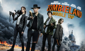 double tap, zombieland, comedy, sequel, blu-ray, review, sony pictures