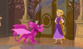 pascal's dragon, rapunzel's tangled adventure, tv show, animated, musical, fantasy, season 3, review, disney channel