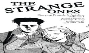 the strange ones, comic, graphic novel, jeremy jusay, net galley, review, gallery 13, pocket books
