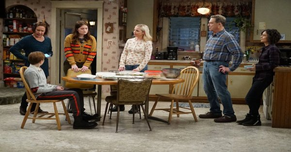 throwing a christian to a bear, the conners, tv show, comedy, season 2, review, abc