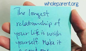 self-care and the relationship with ourselves