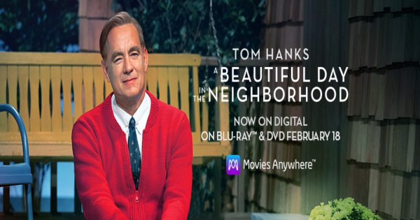 a beautiful day in the neighborhood, drama, tom hanks, blu-ray, review, sony pictures