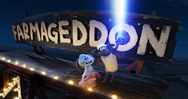 farmageddon, shaun the sheep, sequel, stop motion, animated, science fiction, comedy, review, aardman animations, netflix