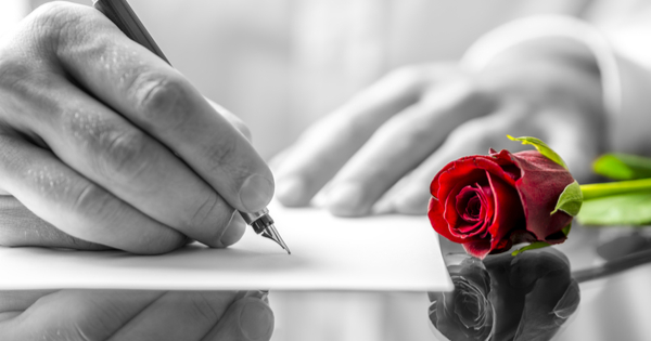 How to write a great love letter to a man