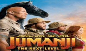 the next level, jumanji, sequel, fantasy, adventure, comedy, blu-ray, review, sony pictures
