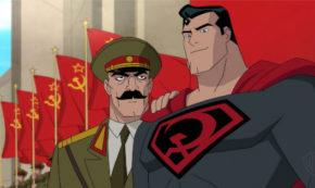 superman red son, animated, adaptation, jason isaacs, blu-ray, review, dc entertainment, warner bros home entertainment