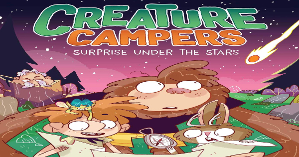 surprise under the stars, creature campers, children's fiction, middle grade, joe mcgee, net galley, review, andrews mcmeel publishing