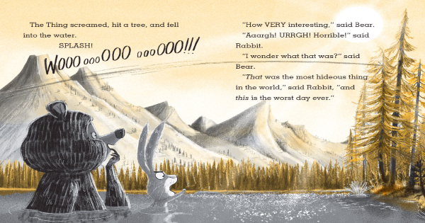 attack of the snack, rabbit and bear, children's fiction, julian gough, net galley, review, printers row publishing group