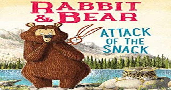 attack of the snack, rabbit and bear, children's fiction, julian gough, net galley, review, printers row publishing