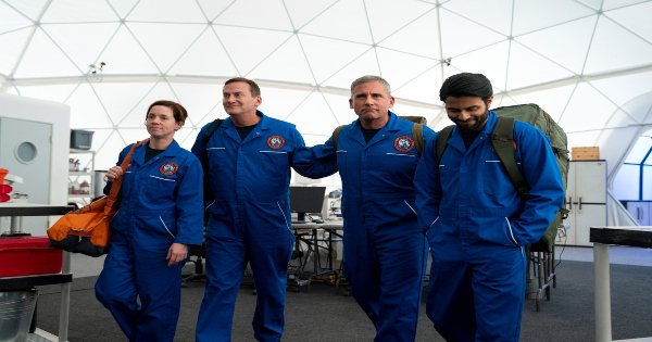 space force, tv show, comedy, season 1, review, netflix