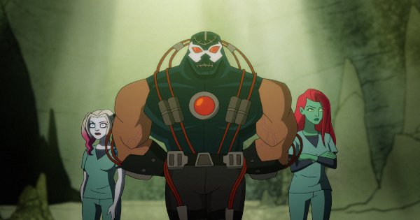 there's no place to go but down, harley quinn, tv show, animated, action, comedy, kaley cuoco, lake bell, season 2, review, dc universe, warner bros television