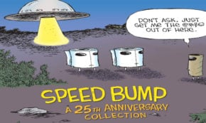 speed bumps, 25th anniversary, comic, graphic novel, humor, dave coverly, net galley, review, idw publishing