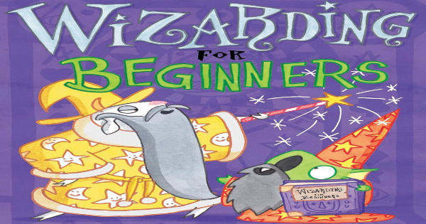 wizarding for beginners, children's fiction, elys dolan, net galley, review, andrews mcmeel publishing