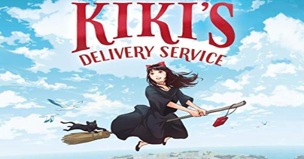 kiki's delivery service, children's fiction, romance, eiko kadono, net galley, review, random house children's