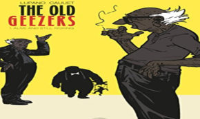 the old geezers, vol 1, comic, graphic novel, wilfrid lupano, net galley, review, diamond book distributors