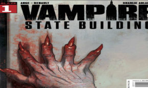 vampire state building, comic, graphic novel, horror, patrick renault, net galley, review, diamond book distributors