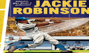 jackie robinson, graphic novel, nonfiction, blake hoena, net galley, review, lerner publishing group