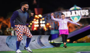 double dutch riggle, holey moley, tv show, sports, competition, season 2, review, abc