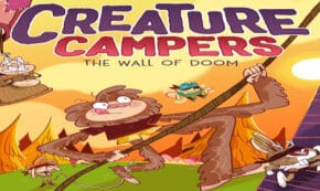 wall of doom, creature campers, children's fiction, joe mcgee, net galley, review, andrews mcmeel publishing