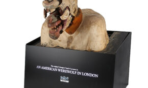 Rick Baker SFX Mechanical Werewolf Transformation Bust from AN AMERICAN WEREWOLF IN LONDON (1981) est. £30k - 50k ($38.7k - 64.5k)
