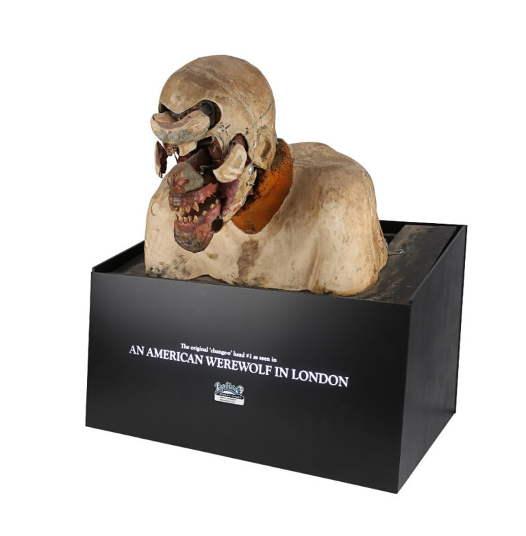 Rick Baker SFX Mechanical Werewolf Transformation Bust from AN AMERICAN WEREWOLF IN LONDON (1981) est. £30k - 50k ($38.7k - 64.5k)