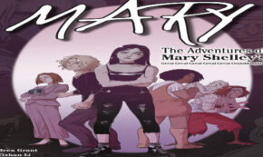 mary, teens, young adult, comic, graphic novel, brea grant, net galley, review, six foot press