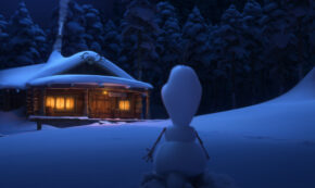 once upon a snowman, short, computer animated, frozen, review, disney plus