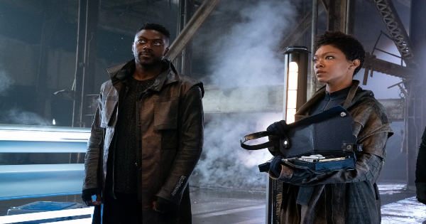 that hope is you, part 1, star trek discovery, tv show, science fiction, action, drama, season 3, review, cbs all access