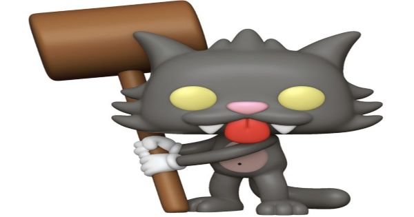 scratchy, the simpsons, tv show, animated, sneak peek, entertainment earth, funko