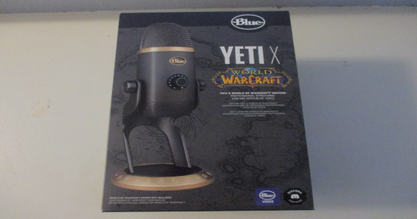 world of warcraft, yeti, microphone, video game, online, multiplayer, gift guide, holiday, blizzard entertainment