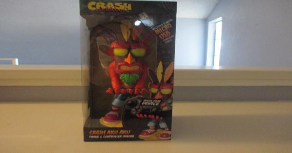 crash bandicoot, aku aku, cable guys, gift guide, holiday, activision