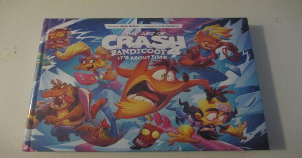 crash bandicoot, t-shirt, art book, cable guys, sweatshirt, gift guide, holiday, activision