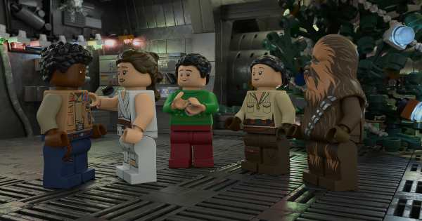 lego star wars holiday special, computer animated, science fiction, comedy, review, lucasfilm, disney plus