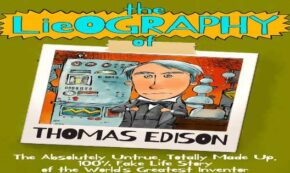 lieography of thomas edison, children's fiction, humor, middle grade, alan katz, net galley, review, tanglewood publishing