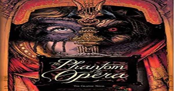 the phantom of the opera, comic, graphic novel, general fiction, varga tomi, net galley, review, diamond book distributors